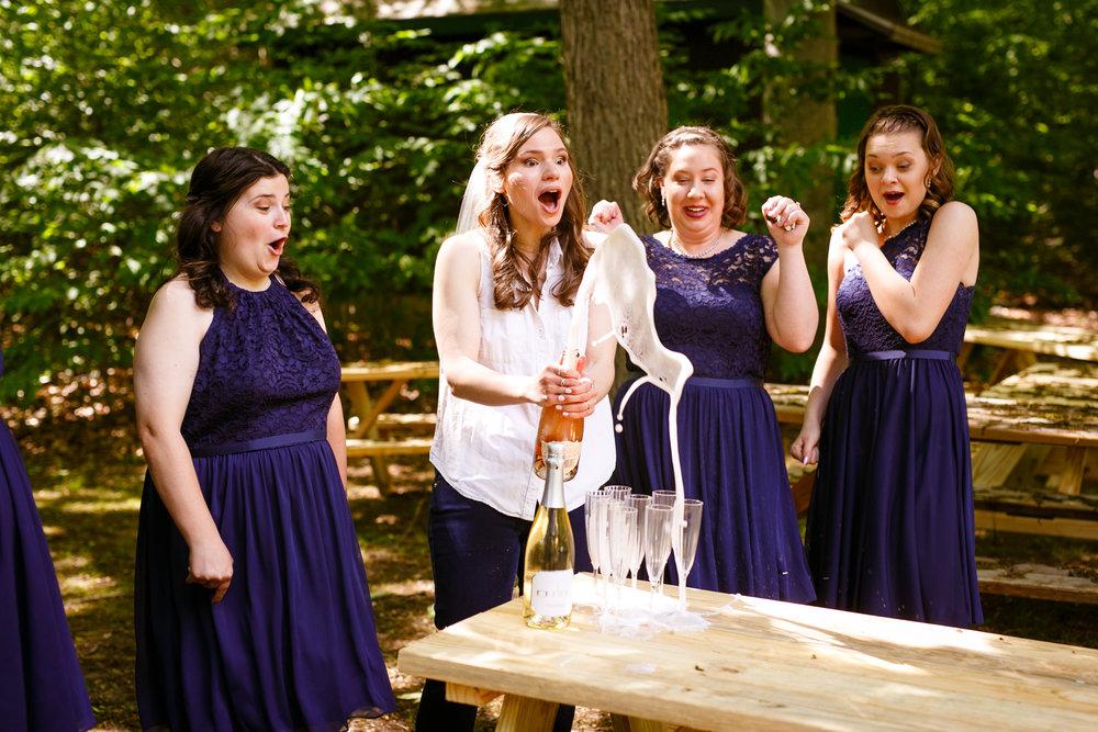 Camp Cedarcrest Wedding - CT Wedding Planner