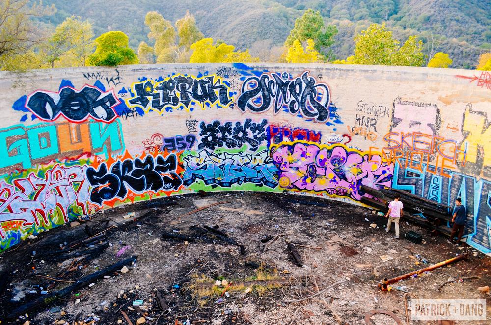 Patrick Dang Murphey Trail Grafitti