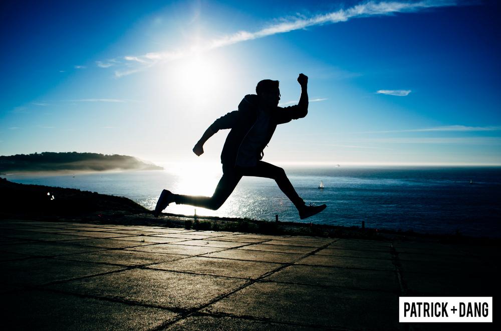 Patrick Dang Jumping