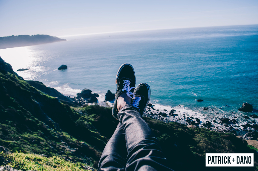 Patrick Dang San Francisco Beach Golden Gate Bridge