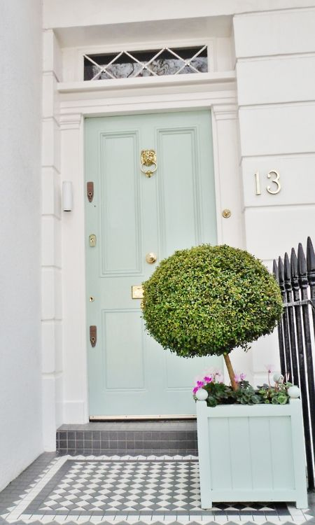 mint & green entry (london)