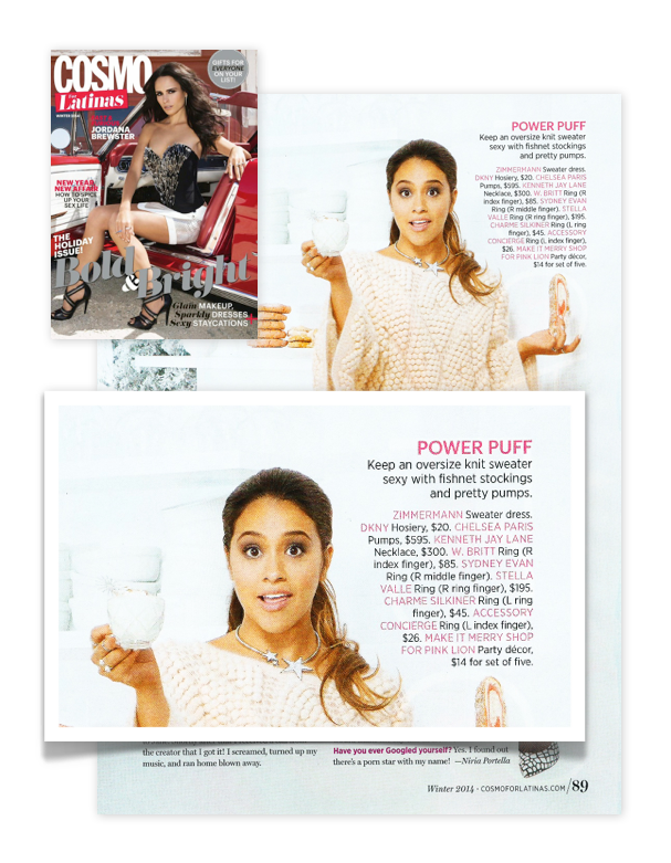 Cosmo, Cosmopolitan for latinas, Gina Rodriguez, MWPR - Entertainment and Lifestyle publicity