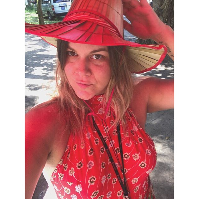 Missing warm (okay hot as hell) weather and all the beauty of Cambodia right now as I fight off jet lag. I was also told this was a Chinese hat and not a Cambodian hat so I feel like I am unauthentic and need to go back right now and redo the entire trip. With the right hat. ❤️😁 #cambodiavibes #cambodia #phnompenh #hatlady #humidaf #scenicspirit #southeastasia #mindfulness #mindfuljourney #luxuryrivercruise #mekongriver #rivercruise