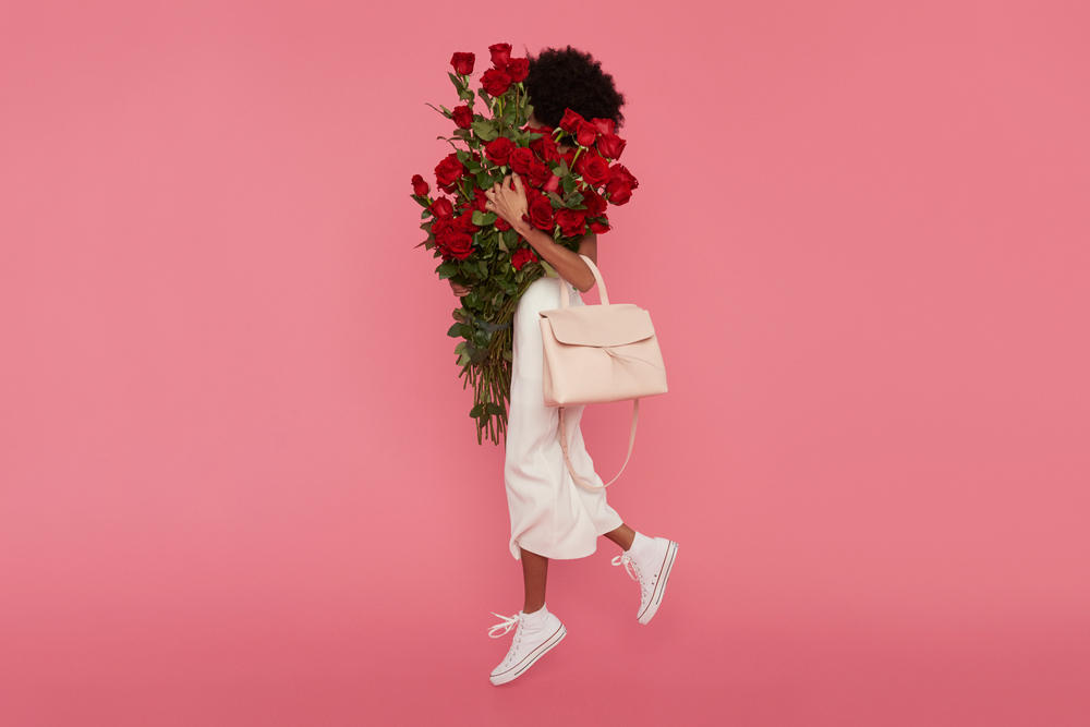 Large lady bag, Rosa