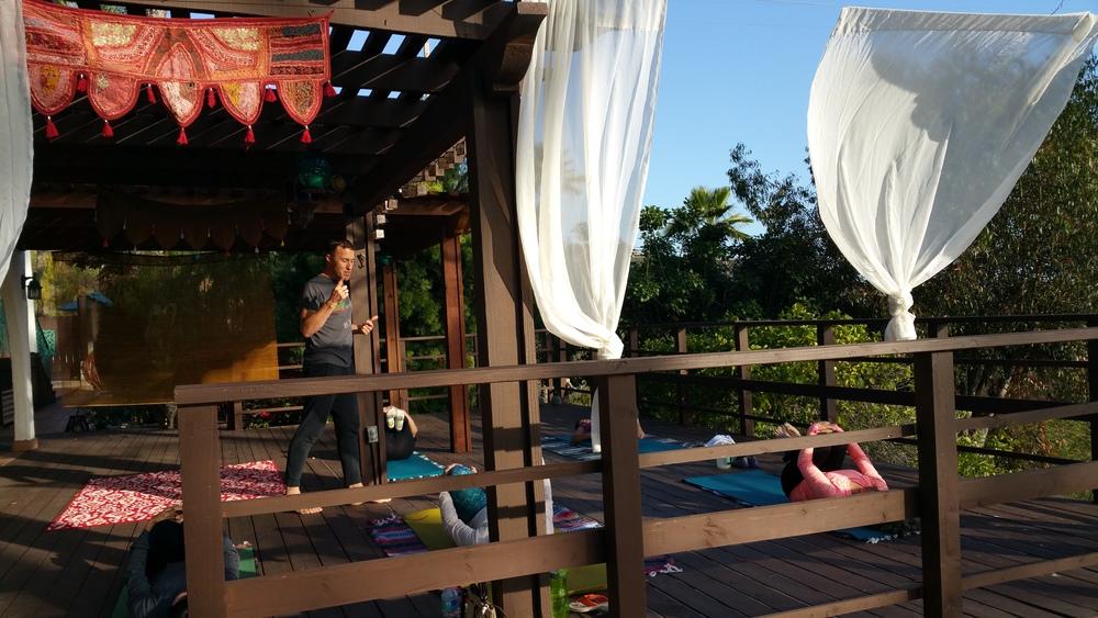 pilates retreat in vista california