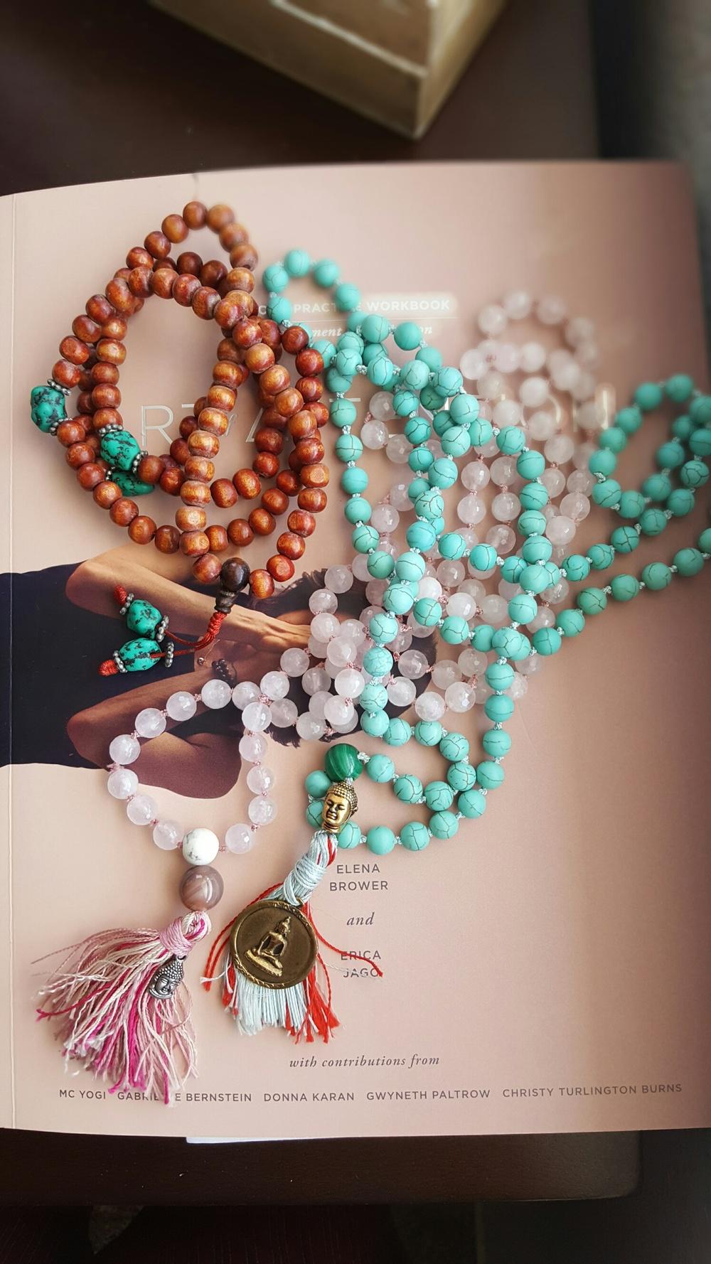 malas in bloom, yoga, spirituality, tibetan prayers