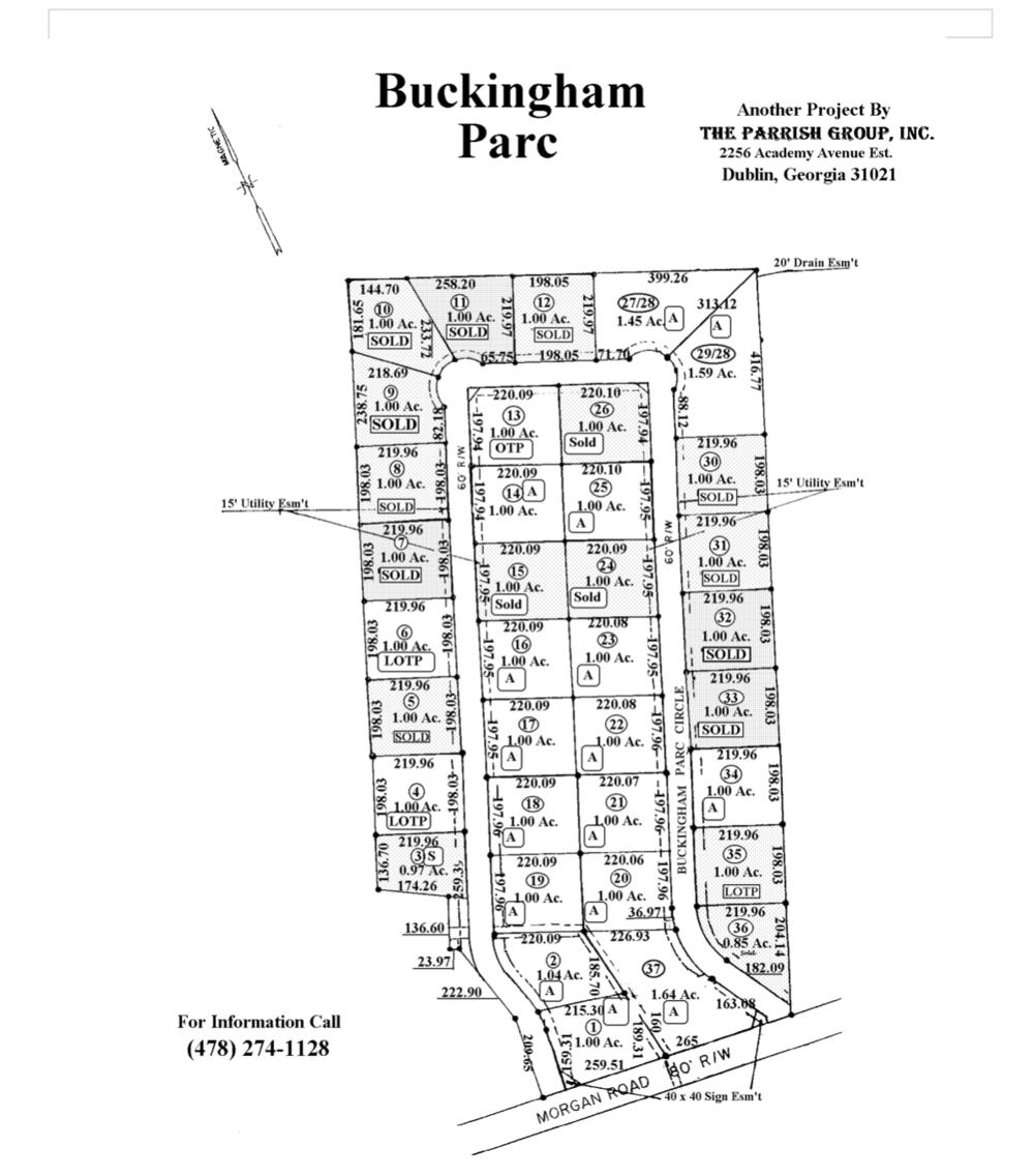 buckingham parc