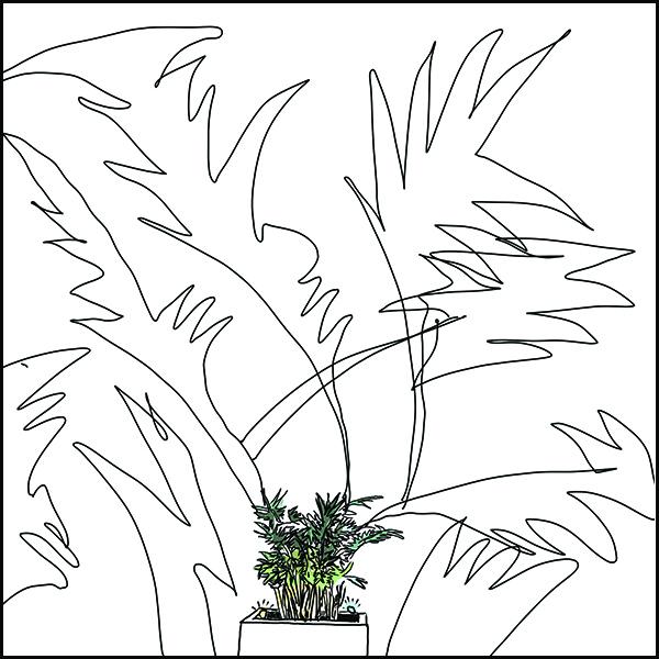 arduino plant sculpture