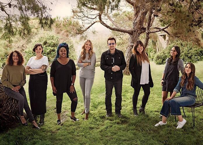 Glamour Magazine w/ Bono & the ONE Campaign
