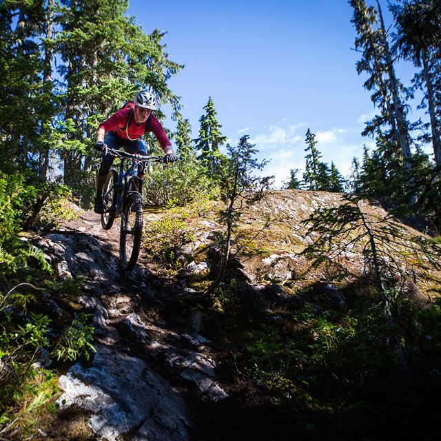 "Played Blackcomb Bingo with @d_sapp1 yesterday, knocked out all the blackcomb trails in a day! 7500+ feet of climbing over only 17 miles (read: steep), and ""moderately technical"" trails (read: hard). Off the couch sufferfests for the win! #summerofshred"