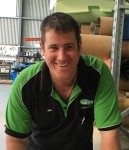 Ben , the man out the back delivering quality products made to your requirements