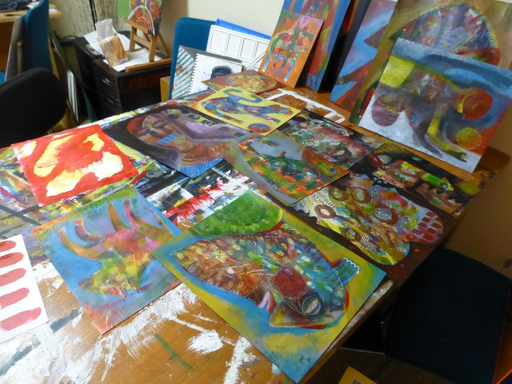 My Messy Studio