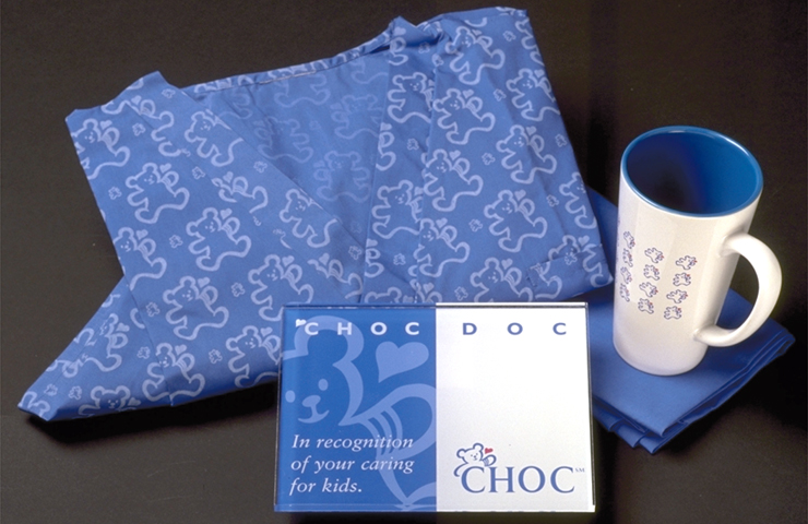 CHOC Scrubs, Plaque, Coffee Mug