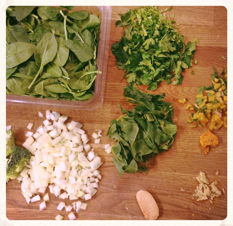 Mise-en-place will benefit you greatly here.