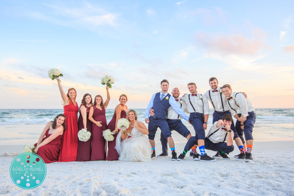 Surfside Resort- Destin Florida- Wedding Photograher ©Ashley Nichole Photography-266.jpg