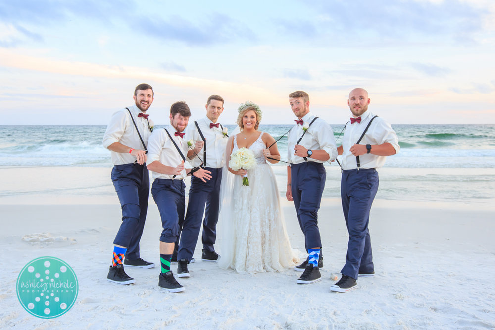 Surfside Resort- Destin Florida- Wedding Photograher ©Ashley Nichole Photography-276.jpg