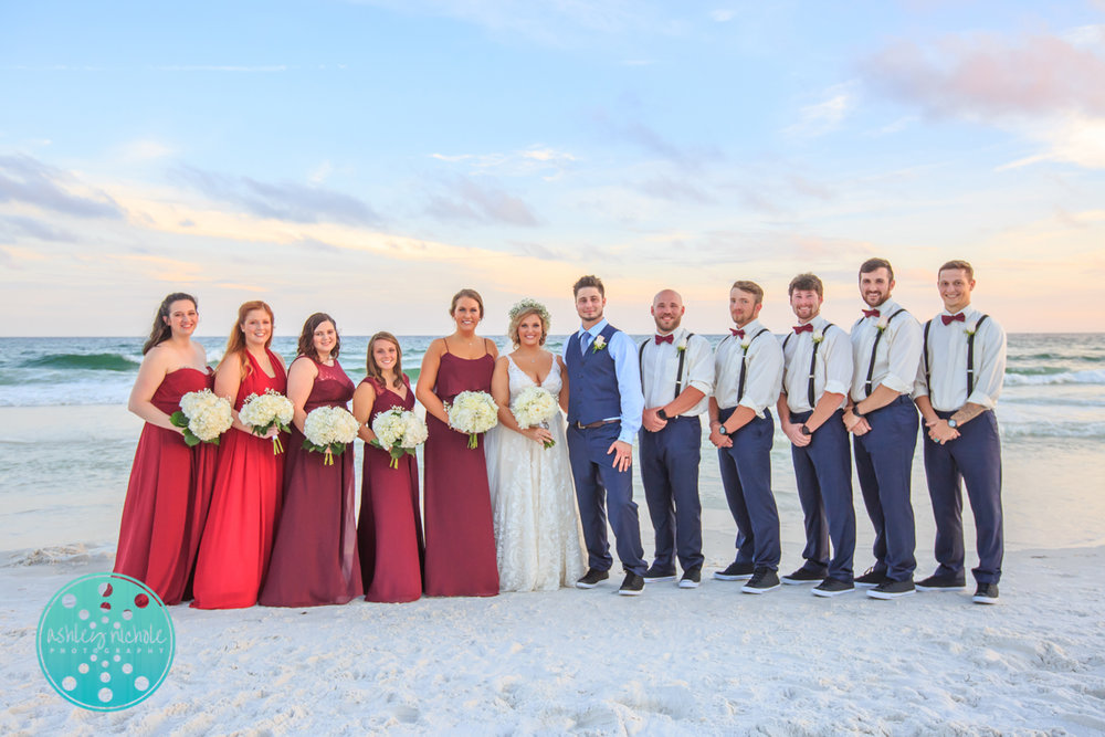 Surfside Resort- Destin Florida- Wedding Photograher ©Ashley Nichole Photography-262.jpg
