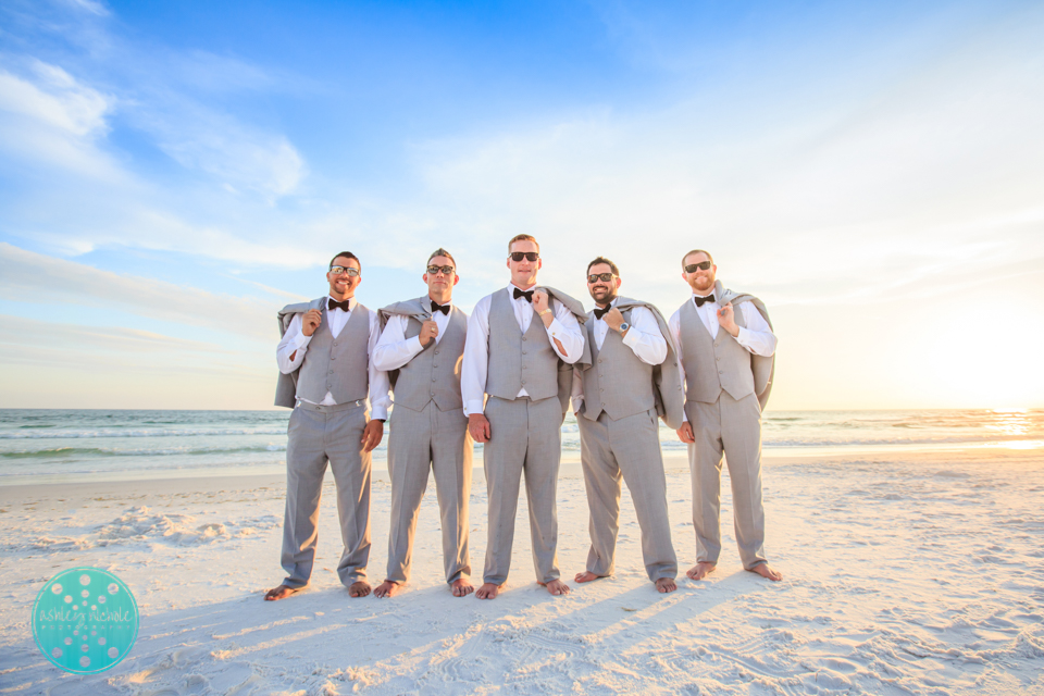 Destin Beach Wedding - Panama City Beach Wedding Photographer ©Ashley Nichole Photography-71.jpg