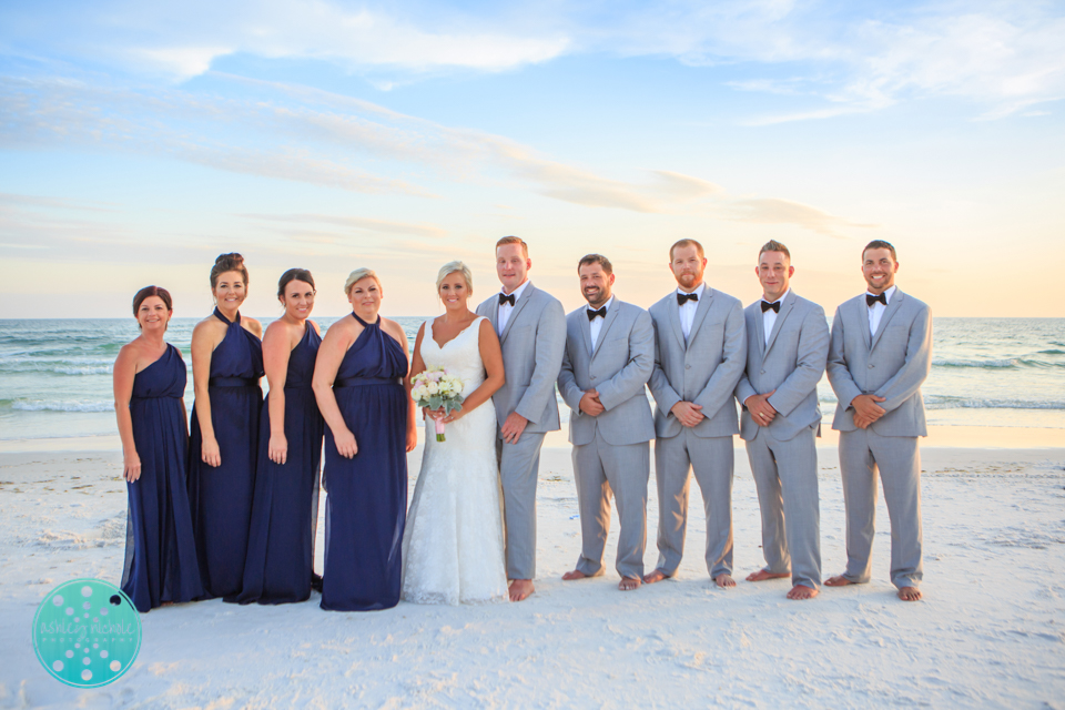 Destin Beach Wedding - Panama City Beach Wedding Photographer ©Ashley Nichole Photography-73.jpg