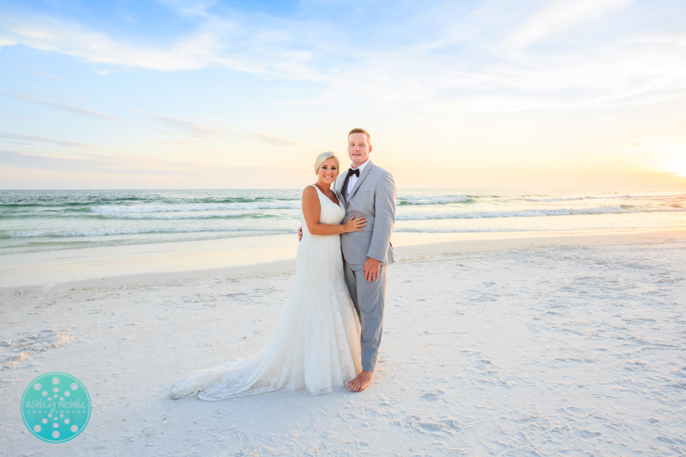 Destin Beach Wedding - Panama City Beach Wedding Photographer ©Ashley Nichole Photography-75.jpg