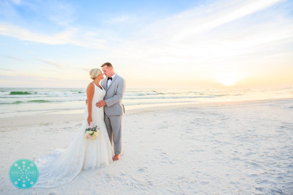 Destin Beach Wedding - Panama City Beach Wedding Photographer ©Ashley Nichole Photography-76.jpg