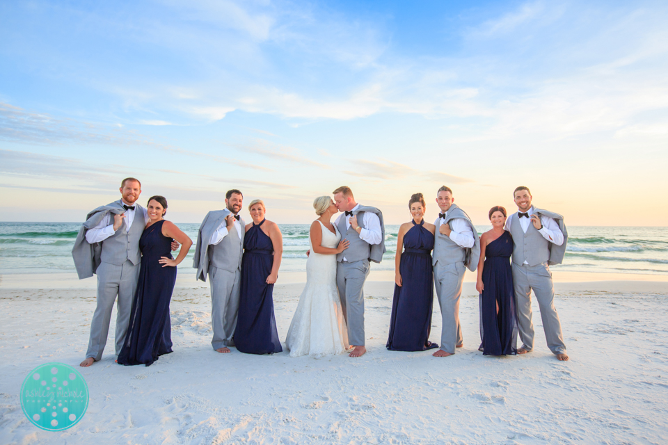 Destin Beach Wedding - Panama City Beach Wedding Photographer ©Ashley Nichole Photography-74.jpg