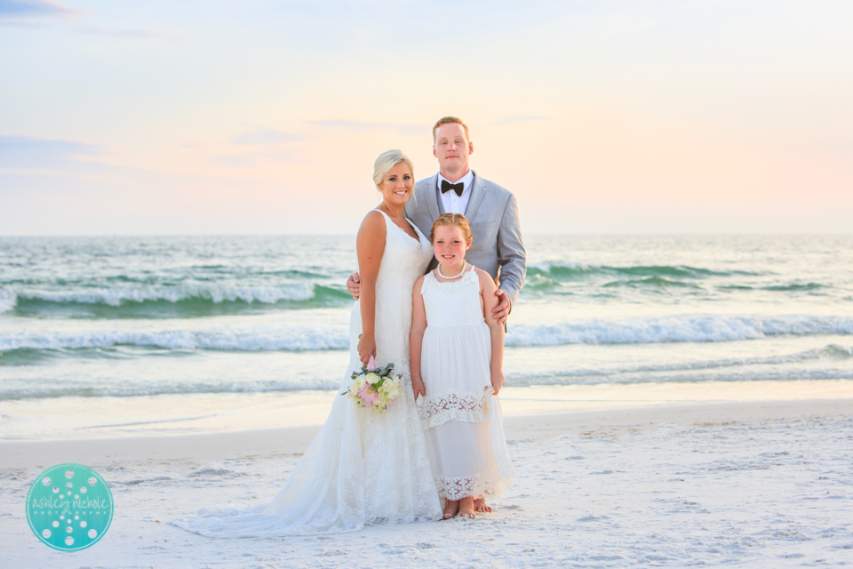 Destin Beach Wedding - Panama City Beach Wedding Photographer ©Ashley Nichole Photography-77.jpg