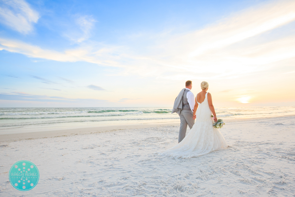Destin Beach Wedding - Panama City Beach Wedding Photographer ©Ashley Nichole Photography-78.jpg