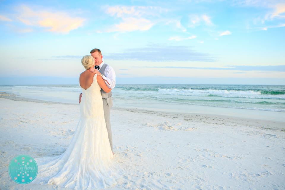 Destin Beach Wedding - Panama City Beach Wedding Photographer ©Ashley Nichole Photography-81.jpg
