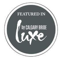calgary bride luxe badge