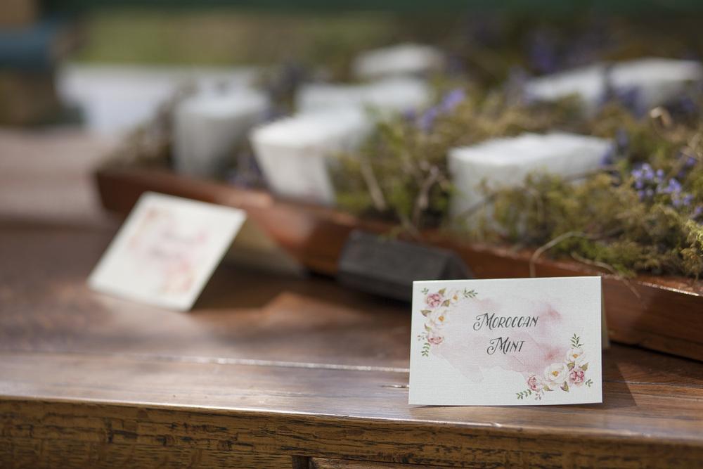 tea sign