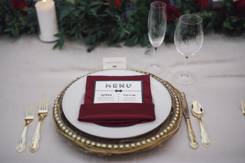 bowtie menu