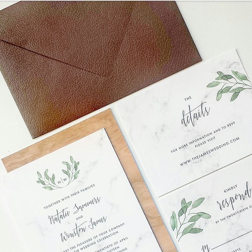 shop-wedding-invitation-leather-wood