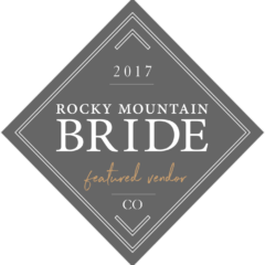 Rocky Mountain Bride Featured Vendor Badge