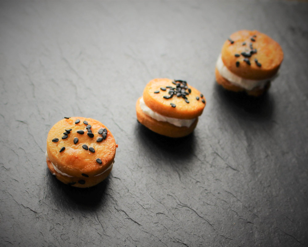 Vegetatian canapes from Platter and Slate by chef Deanna Smith
