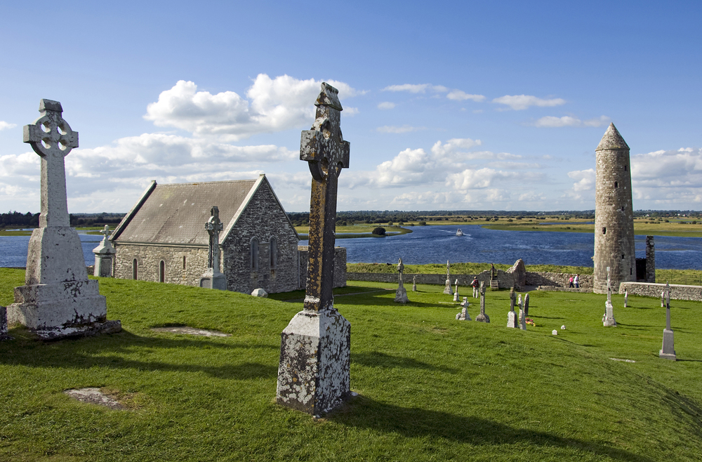 Monastic site at Clonmacnoise