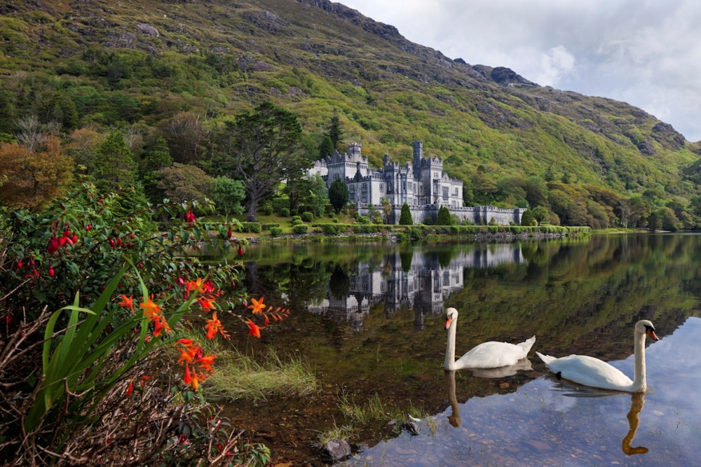 Peaceful Kylemore Abbey