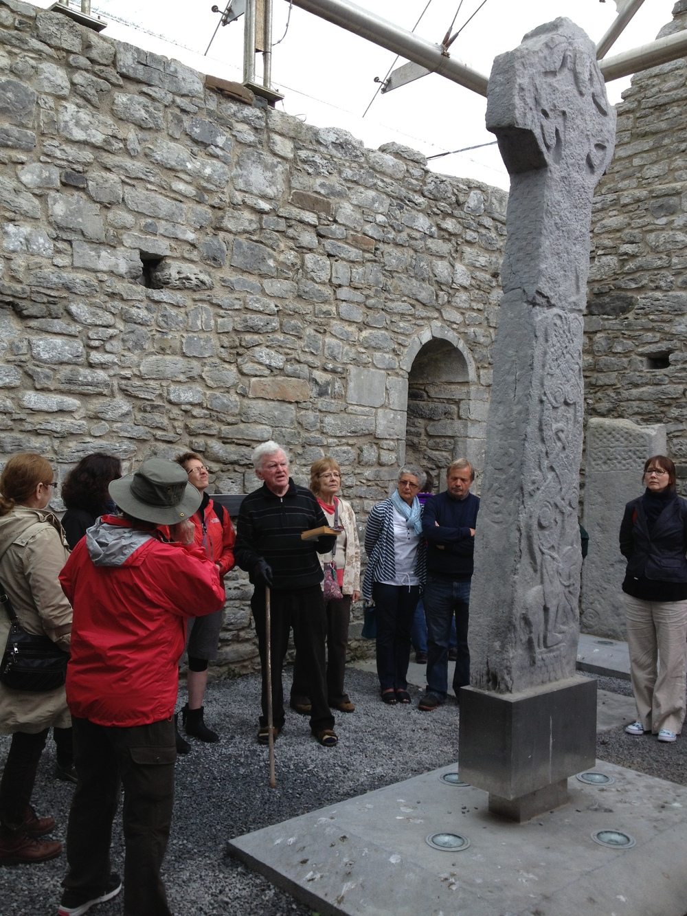 Brian Mooney at High Cross Clare