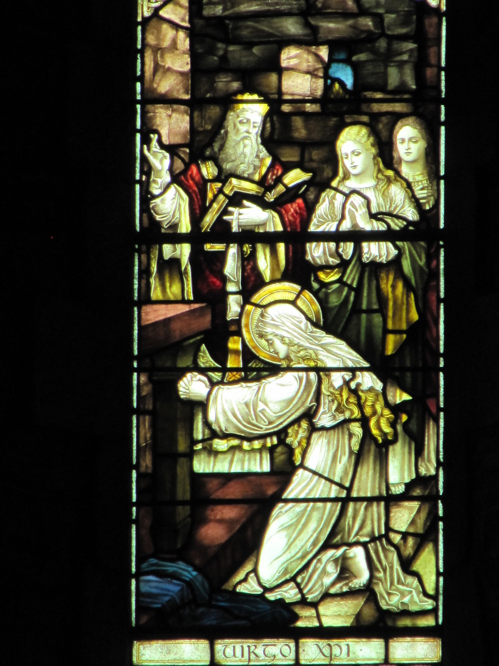 Stain Glass Window, Kildare Cathedral