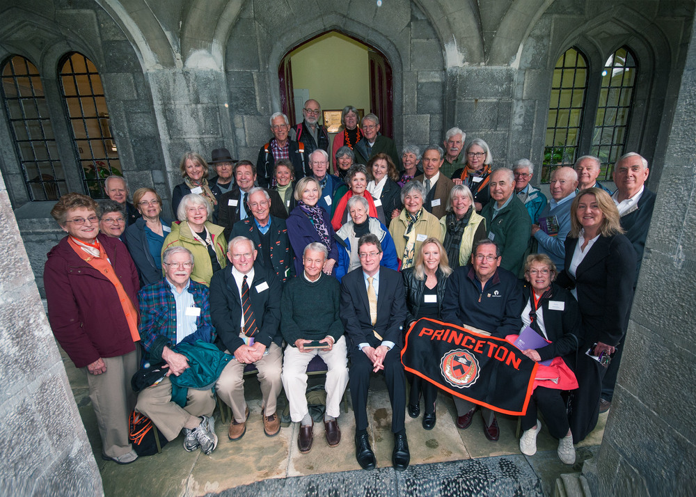 Princeton Alumni Tour of Ireland at National University of Ireland, Galway