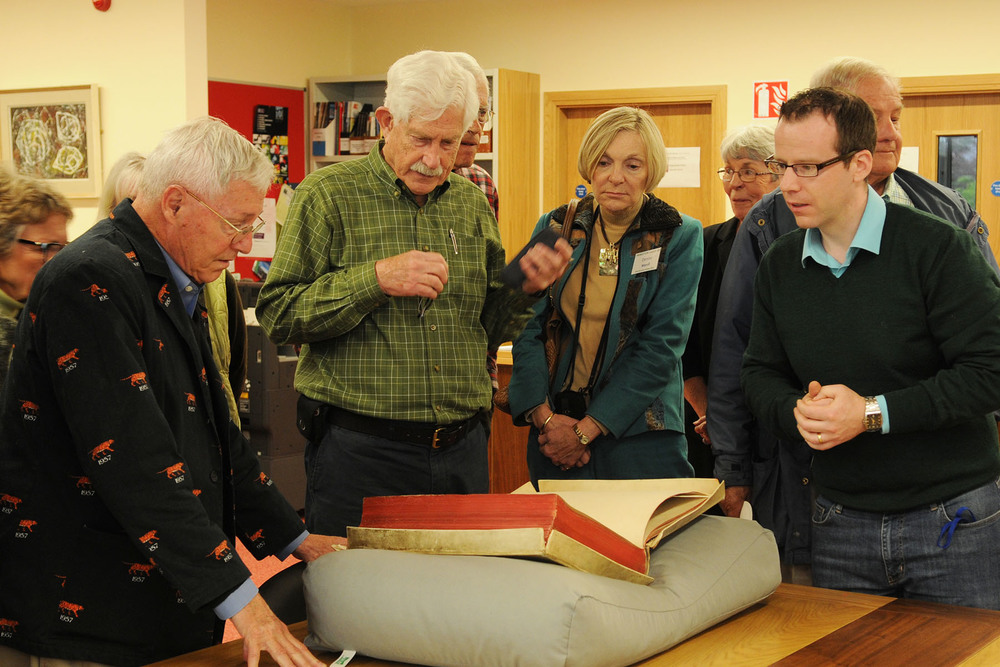 Exclusive tour of Abbey Archives, NUI Galway