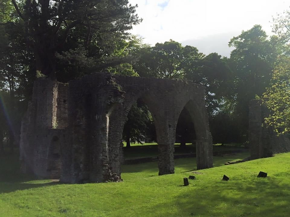 Ruins of a Francisan Friary