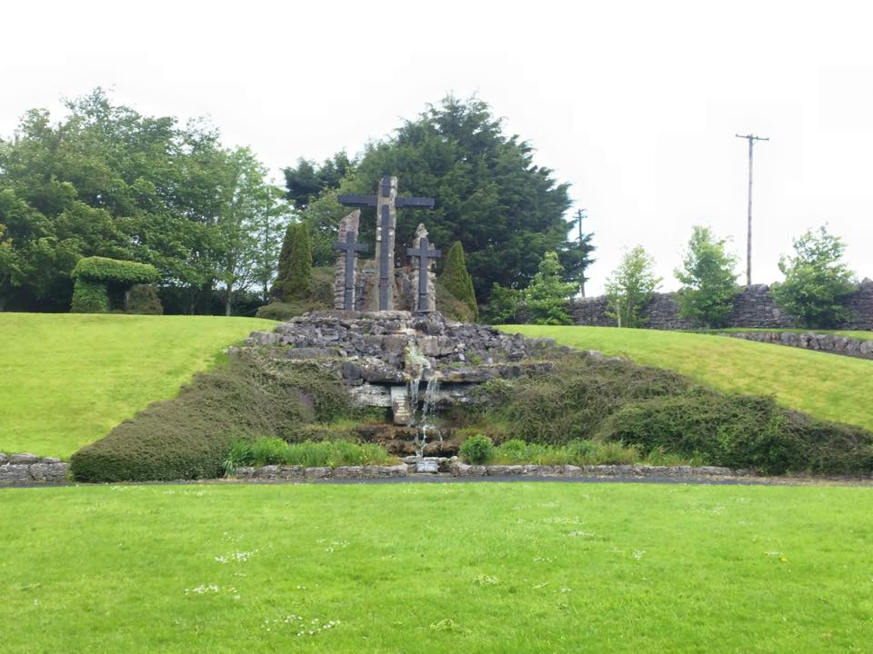 Grounds of Ballintubber Abbey, Co Mayo