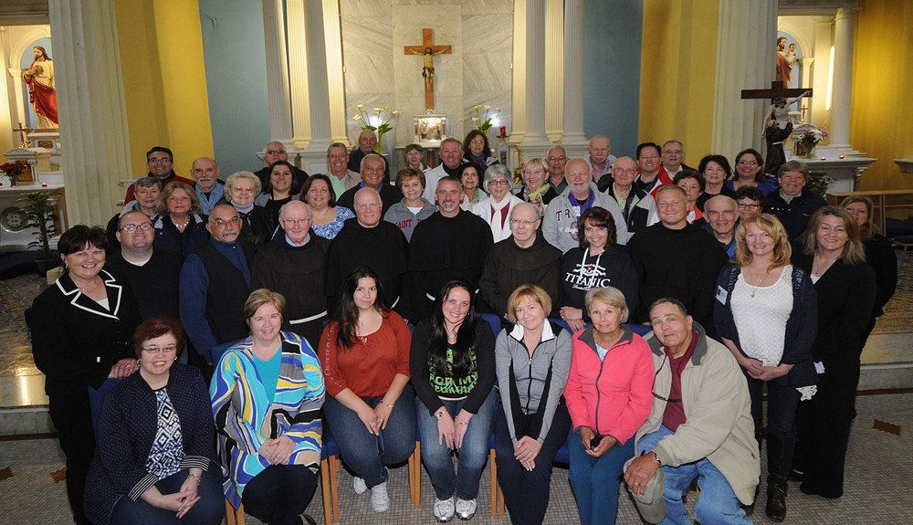 Meeting  and Celebrating Mass with the local Franciscan Brothers, Galway, Ireland.