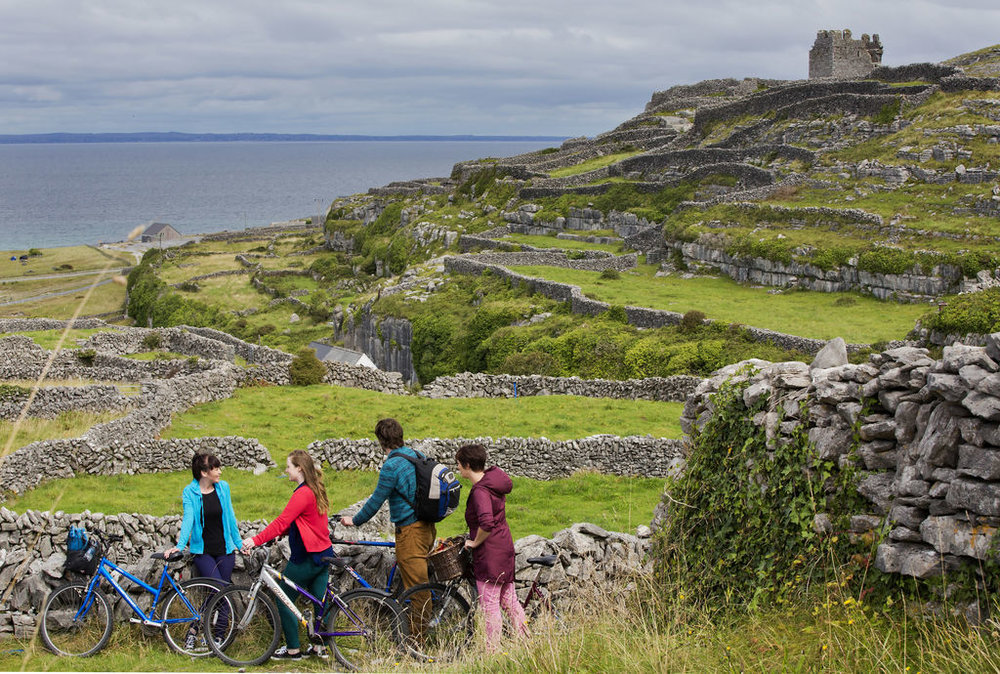 Cycling in Inis Mor