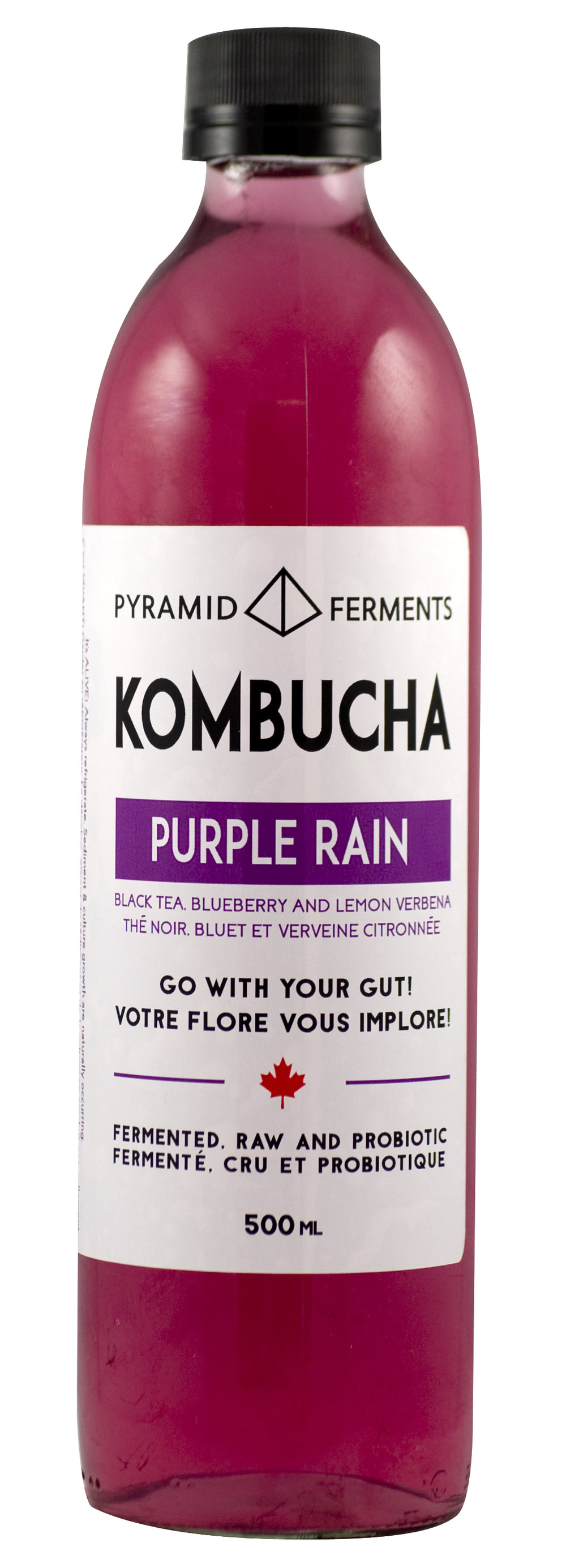 Purple Rain Kombucha