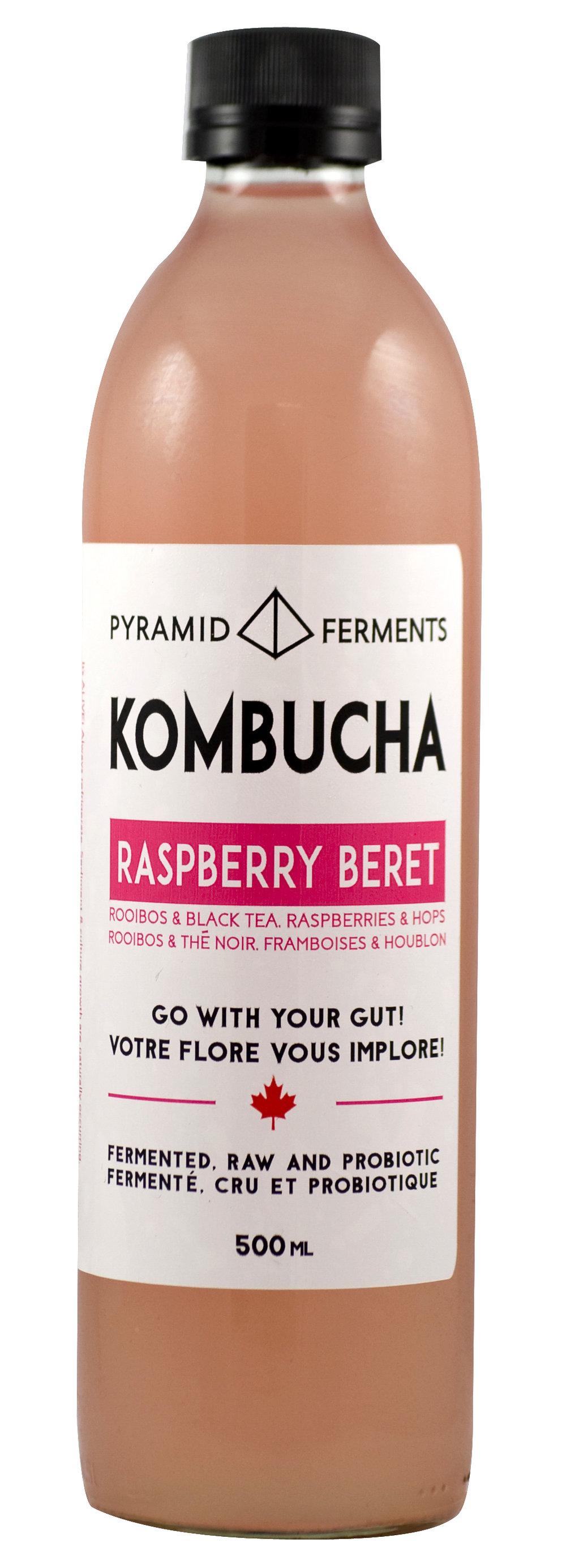 Raspberry Beret Kombucha