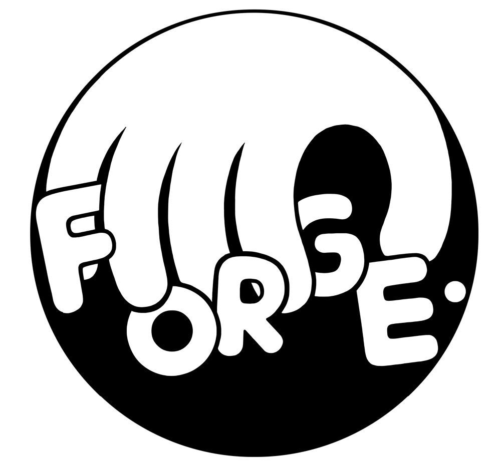 Logo for FORGE. Art Magazine
