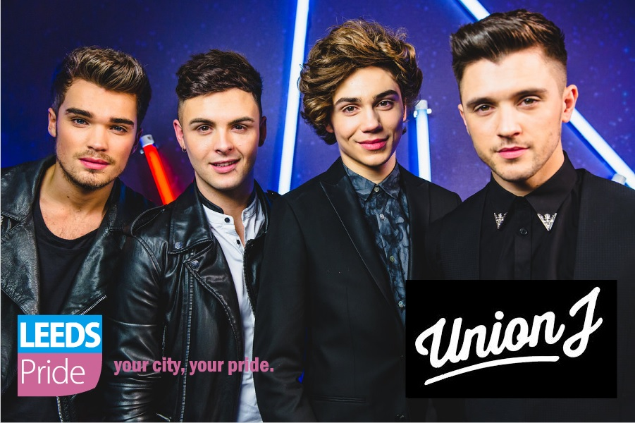 UNION J - Will Headline this year on Main Stage
