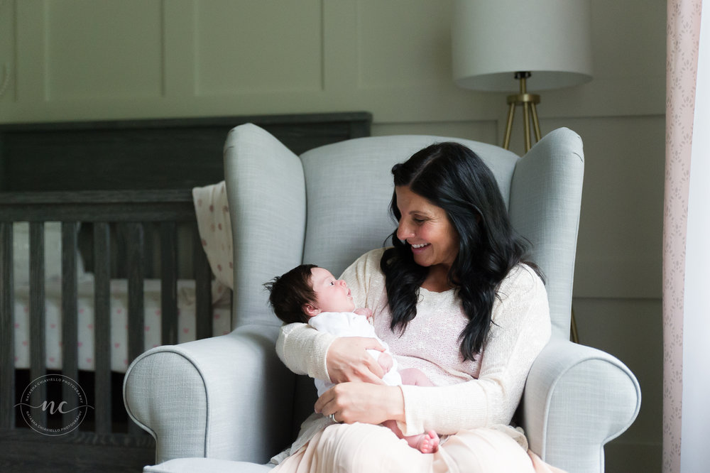 mommy and baby nursery photography